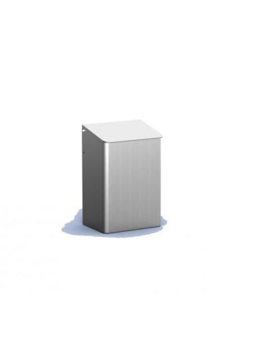 MediQo-line Afvalbak 6 liter aluminium