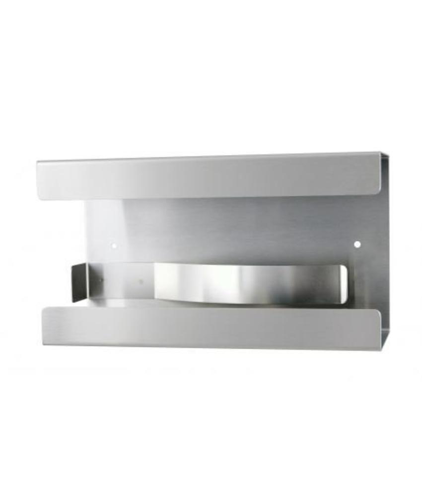 MediQo-line Handschoendispenser uno aluminium