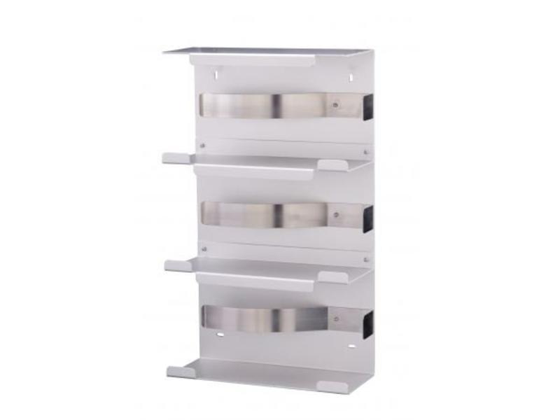 MediQo-line MediQo-line Handschoendispenser trio aluminium