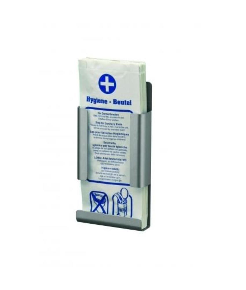 MediQo-line Hygienezakjesdispenser aluminium