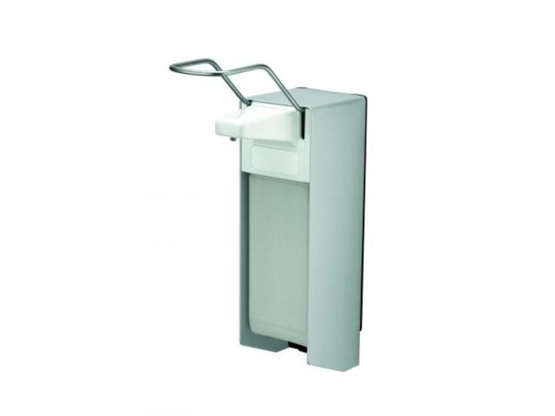 MediQo-line MediQo-line Zeep- & desinfectiemiddeldispenser 1000 ml LB aluminium