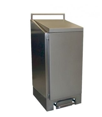 Dutch Bins Dutch Bins Afvalzakhouder RVS 120 liter