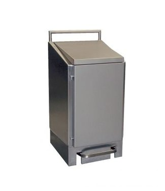 Dutch Bins Dutch Bins Afvalzakhouder RVS 60 liter