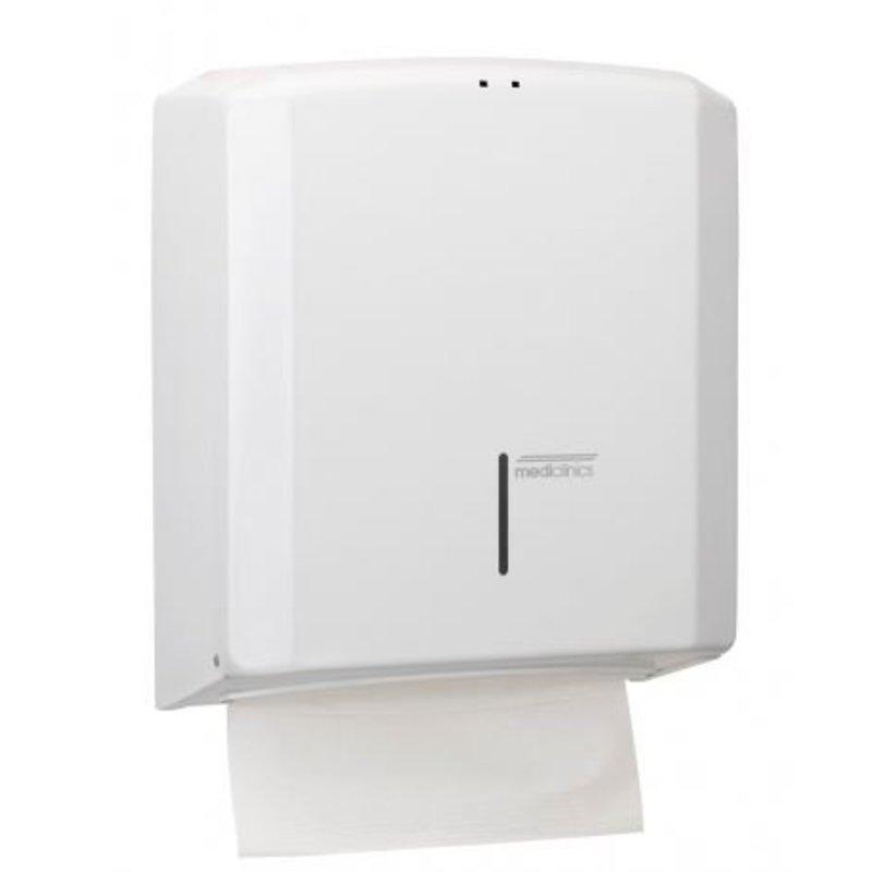 Mediclinics Handdoekdispenser wit
