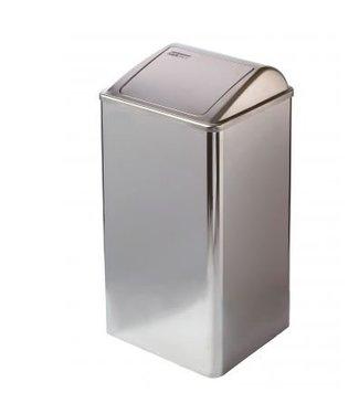 Mediclinics Mediclinics Afvalbak gesloten 65 liter hoogglans