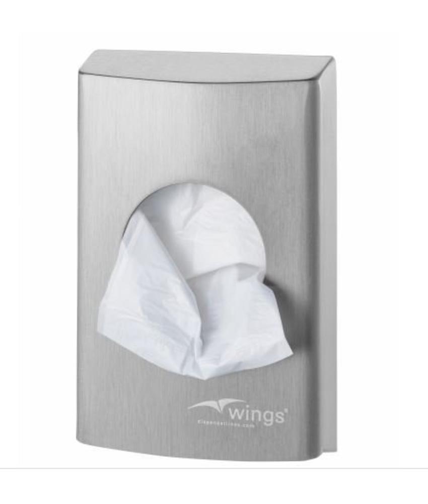 Wings Hygienezakjesdispenser (plastic)