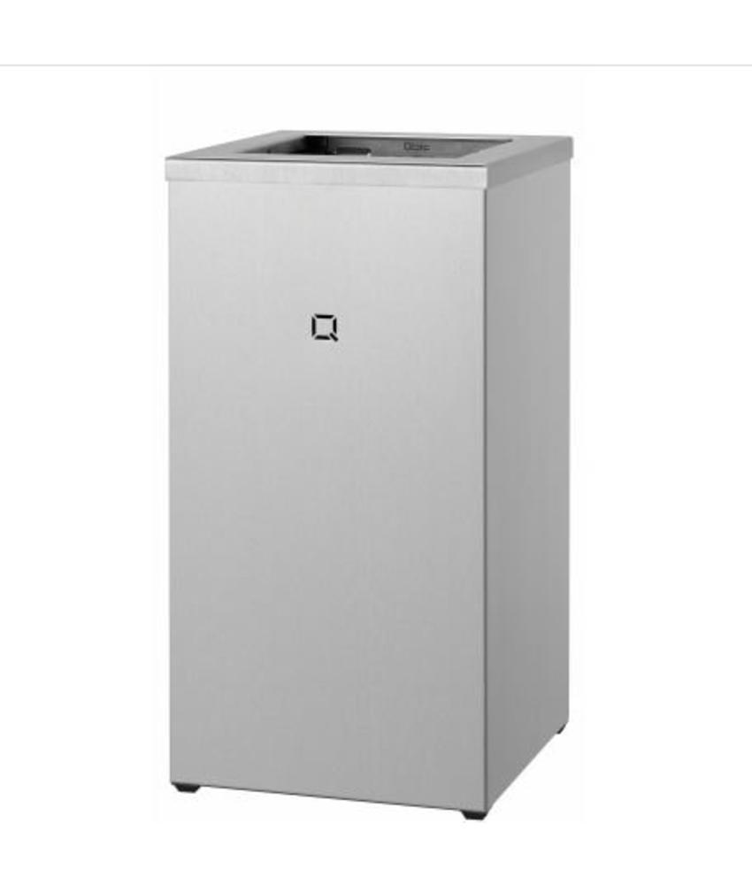 Qbic-line Afvalbak open 30 liter