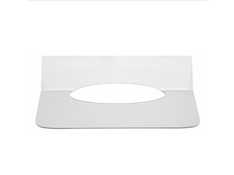 Qbic-line Qbic-line Inlegplaatje handdoekdispenser