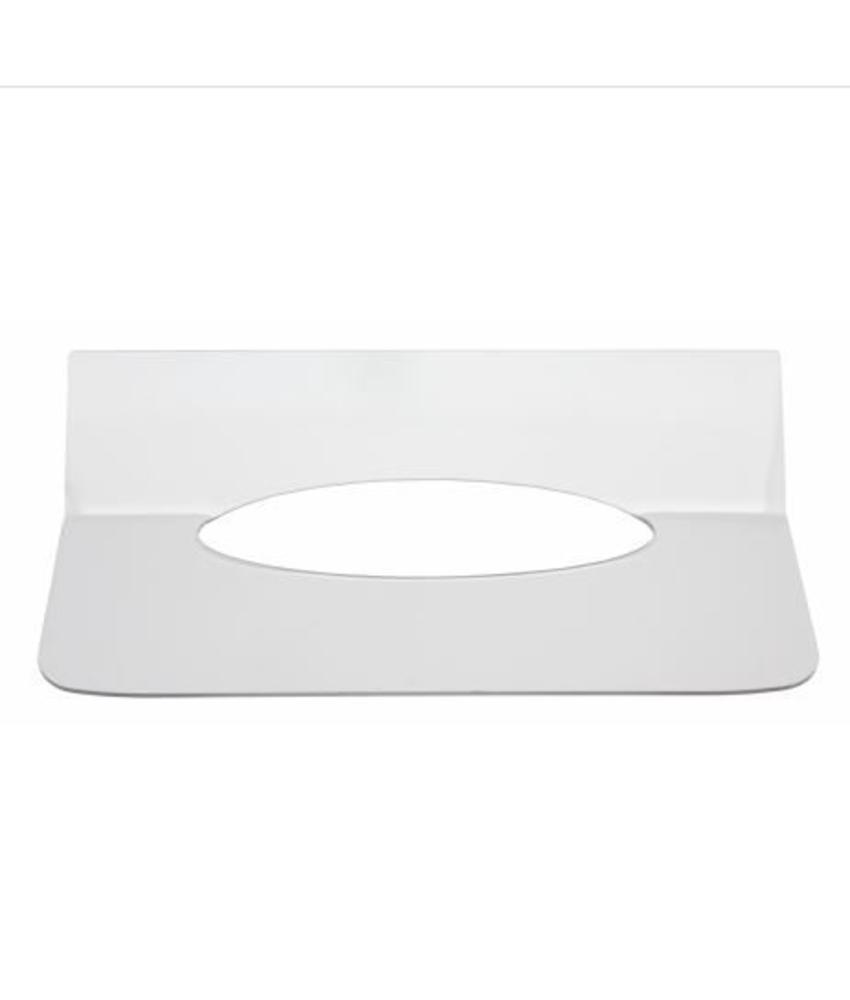 Qbic-line Inlegplaatje handdoekdispenser