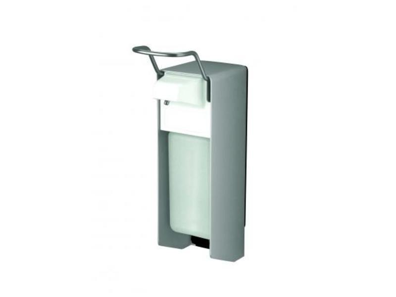 MediQo-line MediQo-line Zeep- & desinfectiemiddeldispenser 500 ml KB aluminium