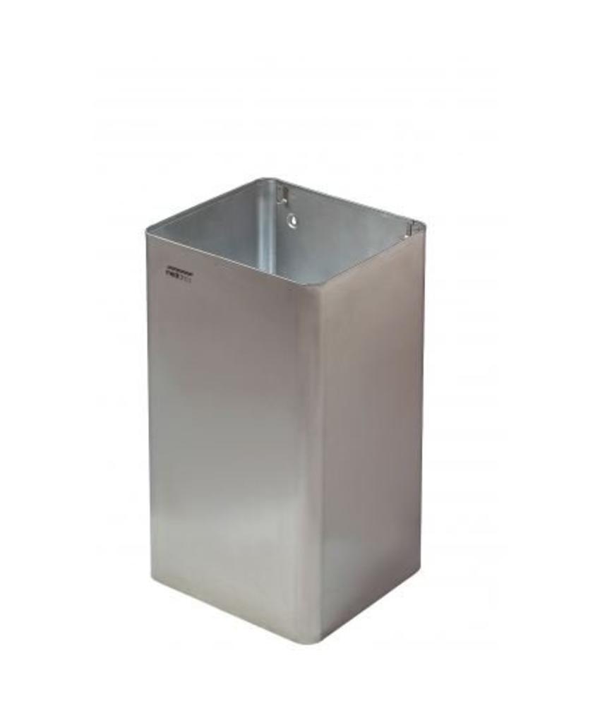 Mediclinics Afvalbak open 65 liter hoogglans
