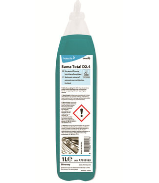 Johnson Diversey Suma Total D2.4 Pur-Eco - doseerflacon 1L