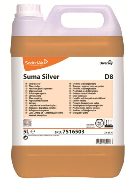 Suma Silver D8 - can 5L