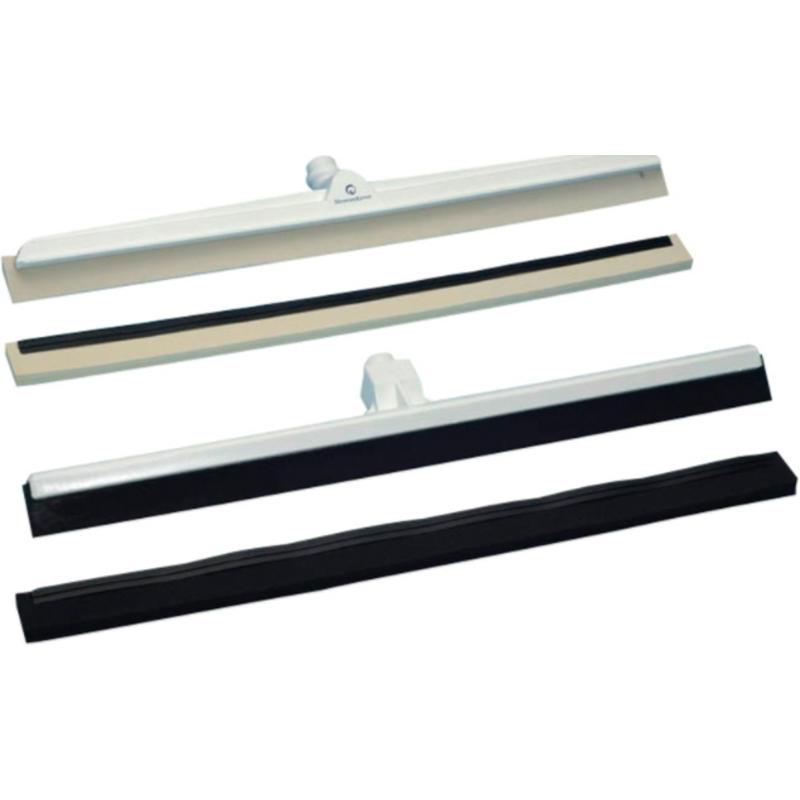 Vloertrekker standaard met zwart rubber - 600 mm