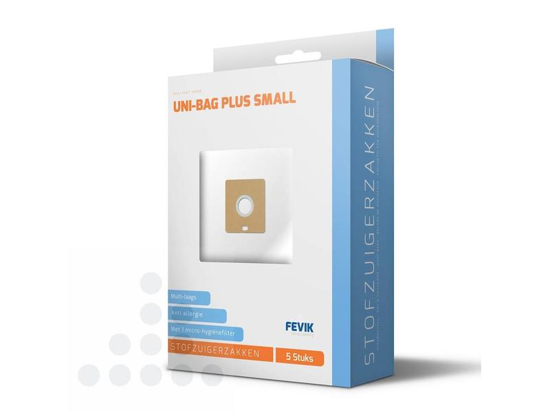 Eigen merk Stofzuigerzakken Uni-bag Plus small filterplus - 5 stuks