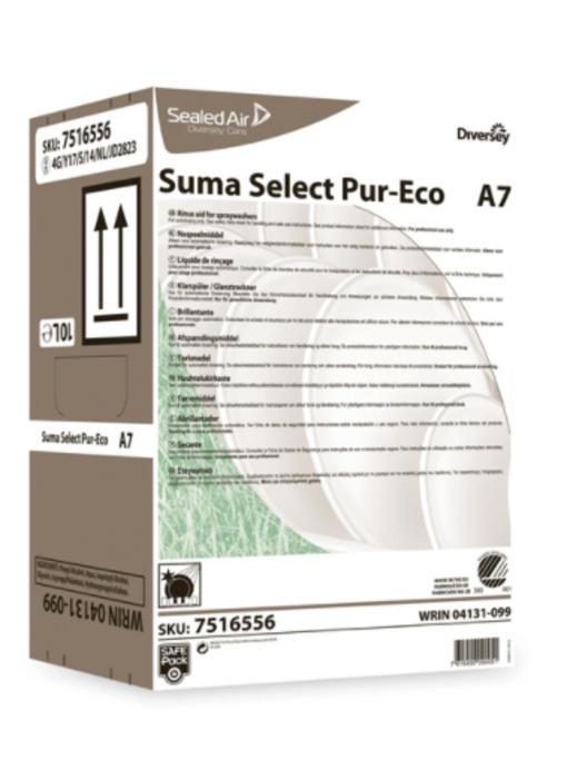 Suma Select Pur-Eco A7 - Safepack 10L