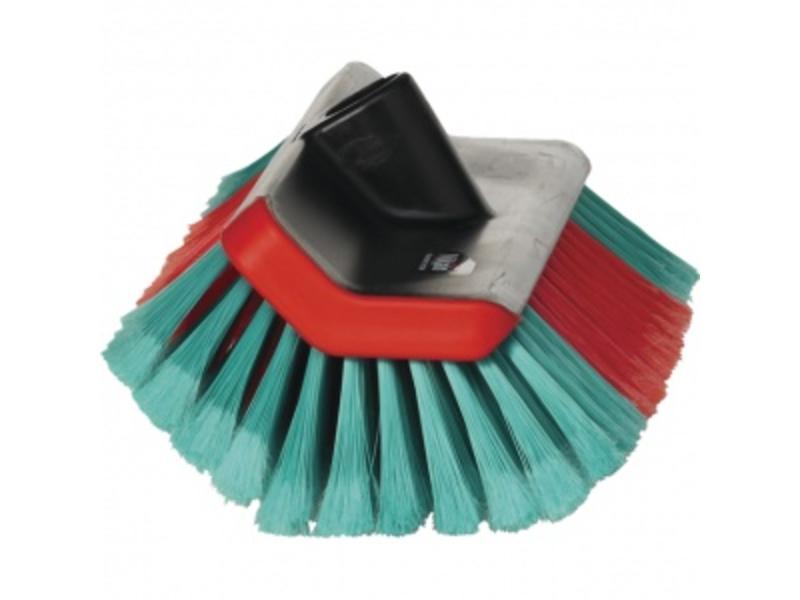 Vikan Hoekborstel met watertoevoer en spray nozzles 25cm