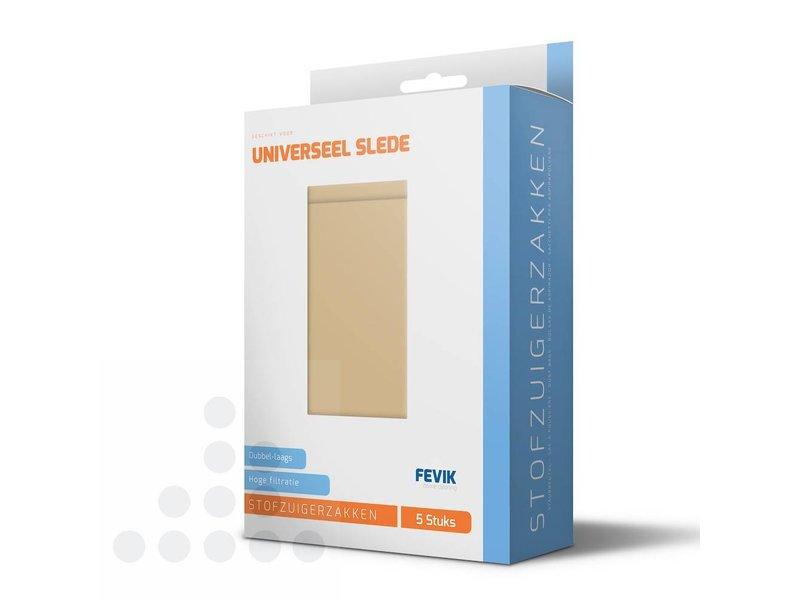 Eigen merk Stofzuigerzakken Universeel Slede papier - 5 stuks