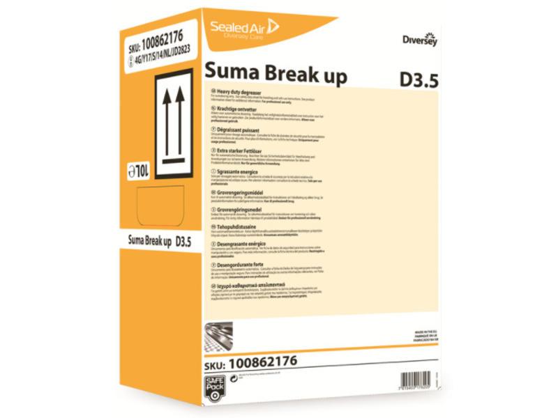 Johnson Diversey Suma Break Up D3.5 - SafePack 10L
