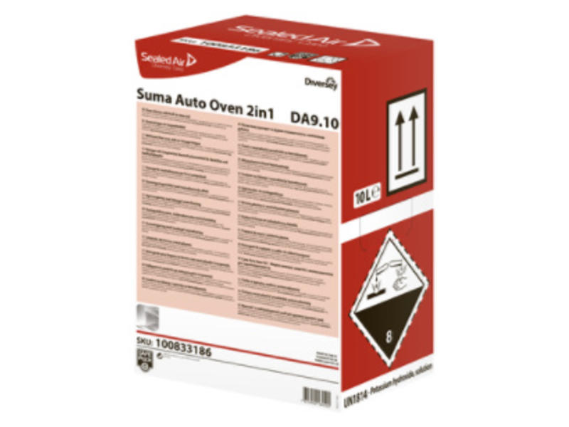 Johnson Diversey Suma Auto Oven 2in1 DA9.10 - Safepack 10L