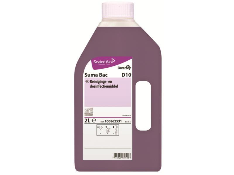 Johnson Diversey Suma Bac D10 - flacon 2 L