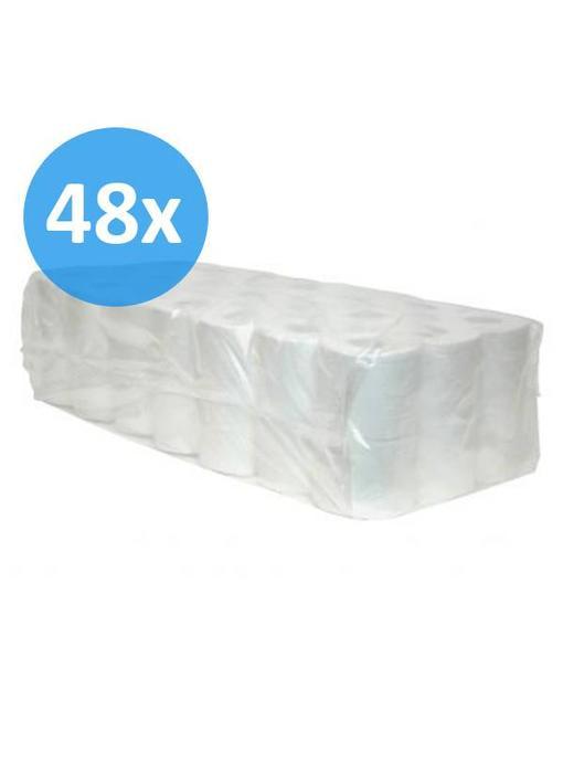 Toiletpapier traditioneel 2-laags, cellulose, 400 vel