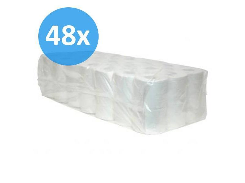 Eigen merk PALLET Toiletpapier traditioneel, 2-laags, cellulose, 400 vel