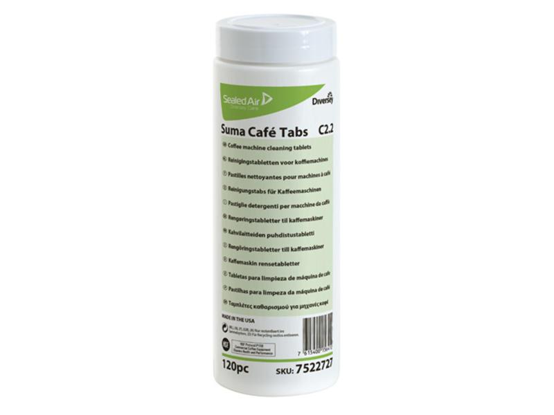 Johnson Diversey Suma Café Tabs C2.2 - 120 stuks