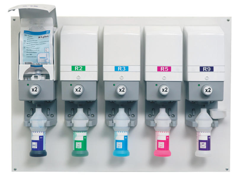 Johnson Diversey Divermite dispenser R2-plus