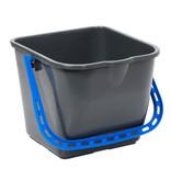 Johnson Diversey TASKI emmer 15 liter -blauw handvat - per stuk