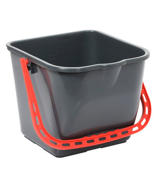 Johnson Diversey TASKI emmer 15 liter - rood handvat