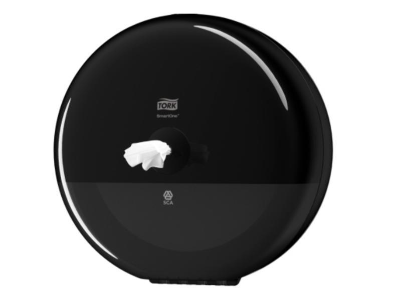 Tork Tork SmartOne® Toiletpapier Dispenser Kunststof Elevation Zwart T8