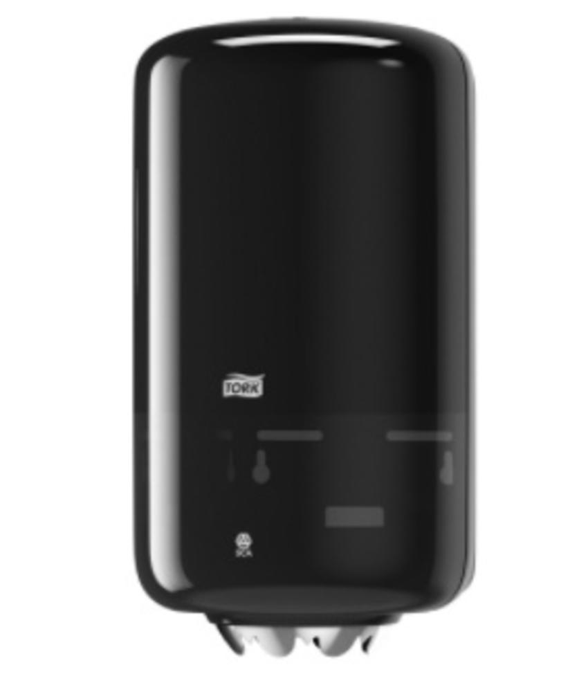 Tork Mini Centerfeed Poetspapier Dispenser Kunststof Zwart M1