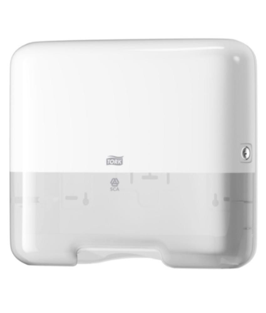 Tork Z-vouw/C-vouw Mini Handdoek Dispenser Wit H3, kunsstof