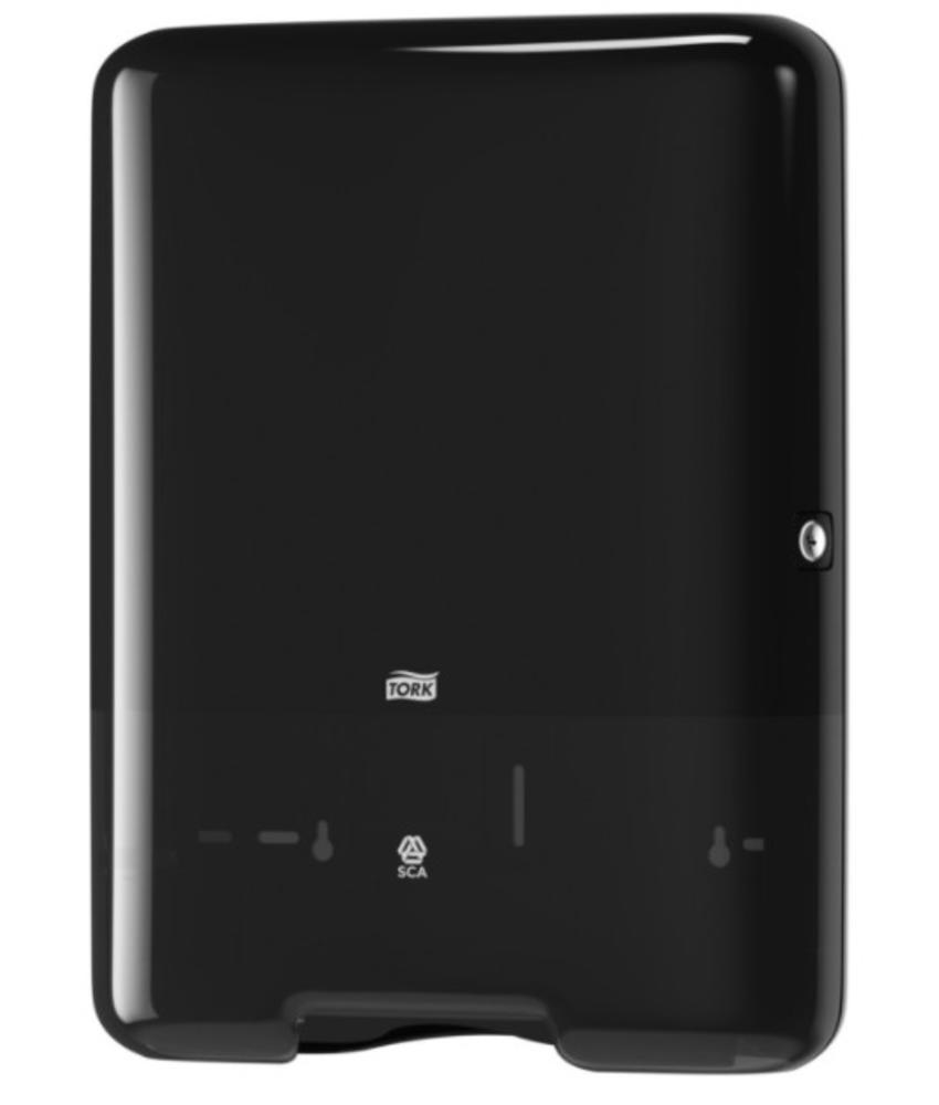 Tork Z-vouw/C-vouw Handdoek Dispenser Kunststof Zwart H3