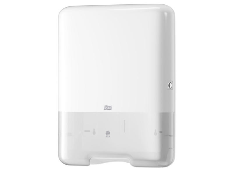 Tork Tork Z-vouw/C-vouw Handdoek Dispenser Kunststof Wit H3