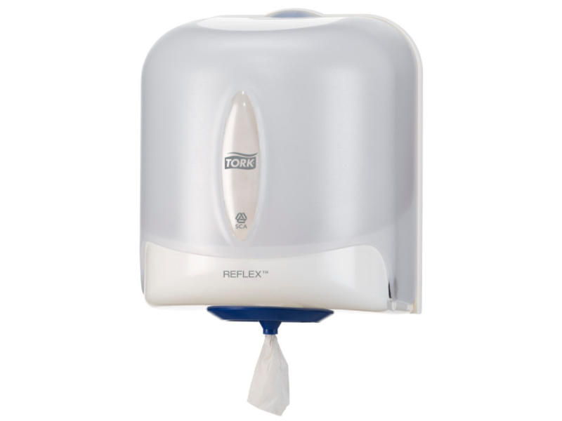 Tork Tork Reflex® Centerfeed Poetspapier Dispenser Kunststof Wit M4
