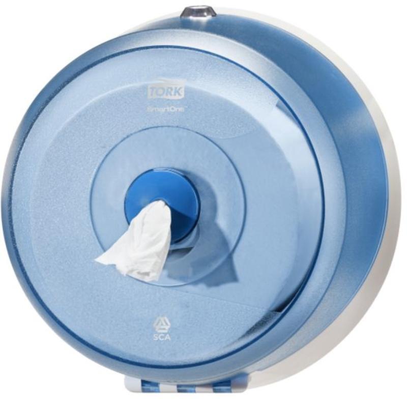 Tork SmartOne® Mini Toiletpapier Dispenser Kunststof Blauw T9