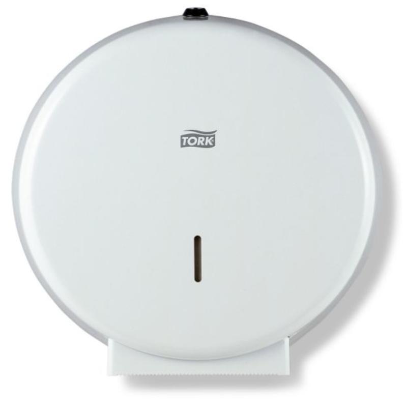 Tork Jumbo Toiletpapier Dispenser Metaal Wit T1