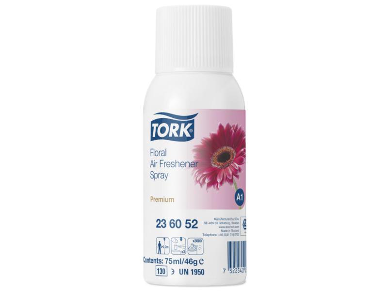 Tork 12x Tork Luchtverfrisser Spray met Bloemengeur A1 Premium