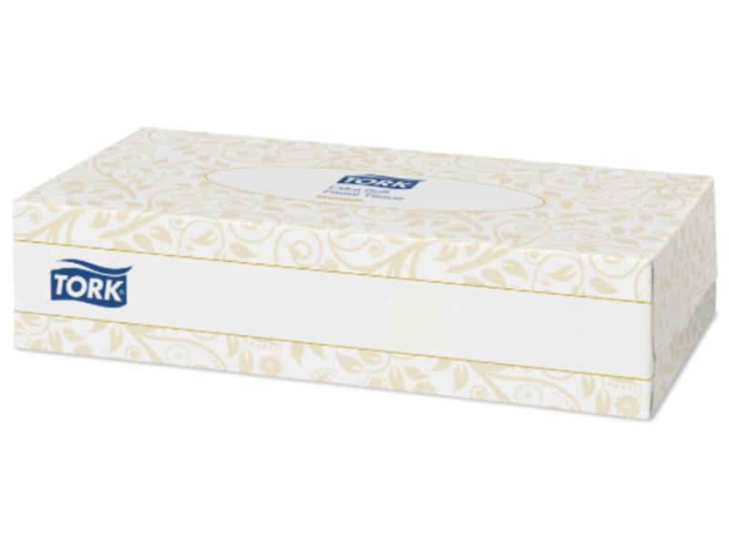 Tork Tork Extra Zachte Facial Tissues 2-laags Wit F1 Premium