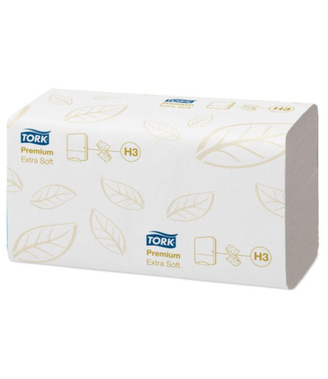 Tork Tork Extra Zachte Z-vouw Handdoek 2-laags Wit H3 Premium
