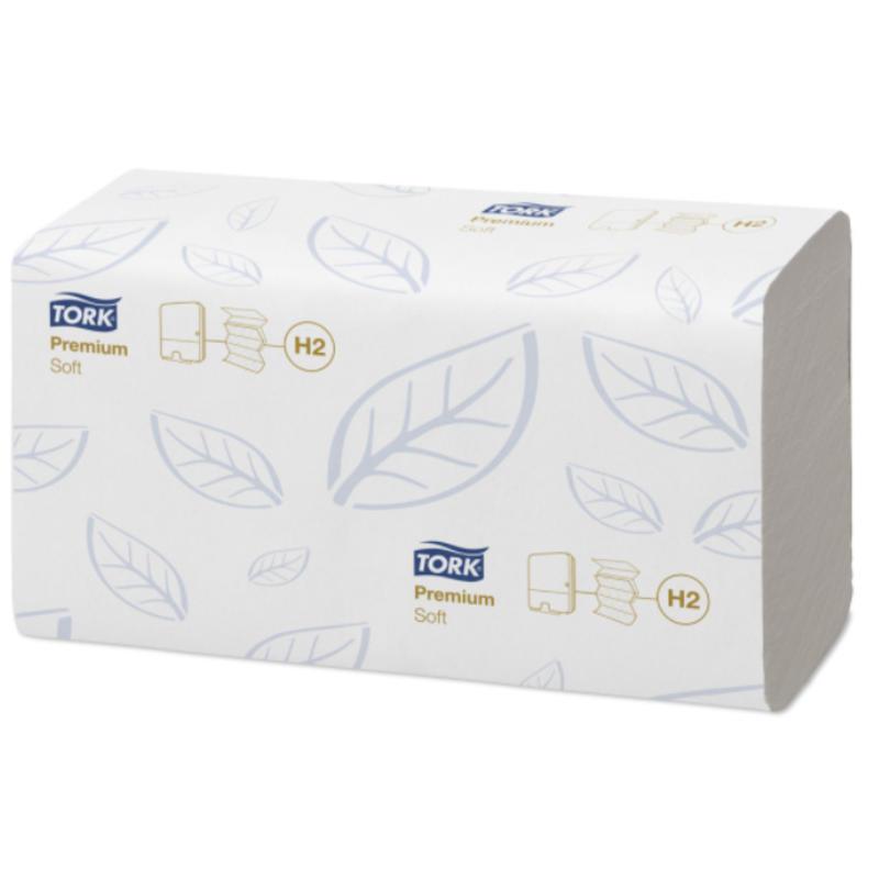 Tork Xpress® Zachte Multifold Handdoek 2-laags XL Wit H2 Premium
