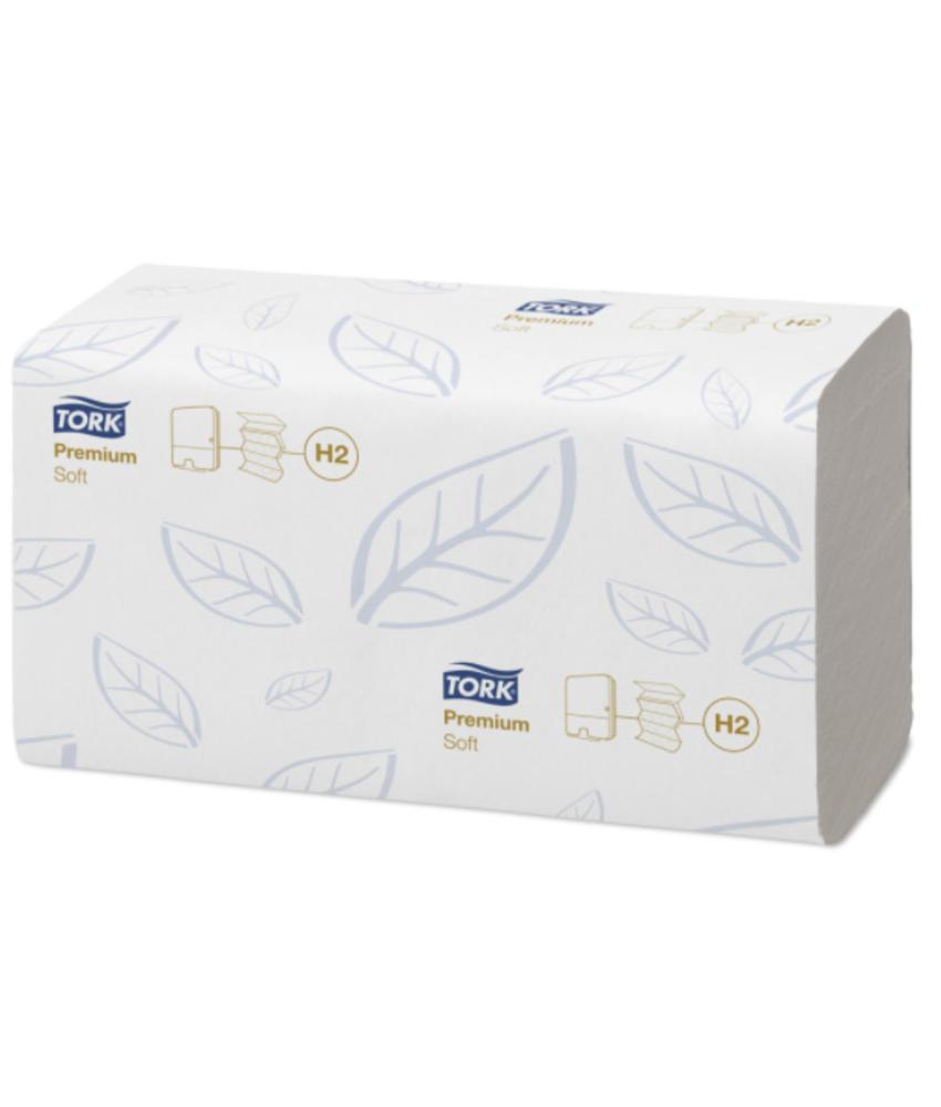 TIJDELIJK NIET LEVERBAAR Tork Xpress® Zachte Multifold Handdoek 2-laags XL Wit H2 Premium