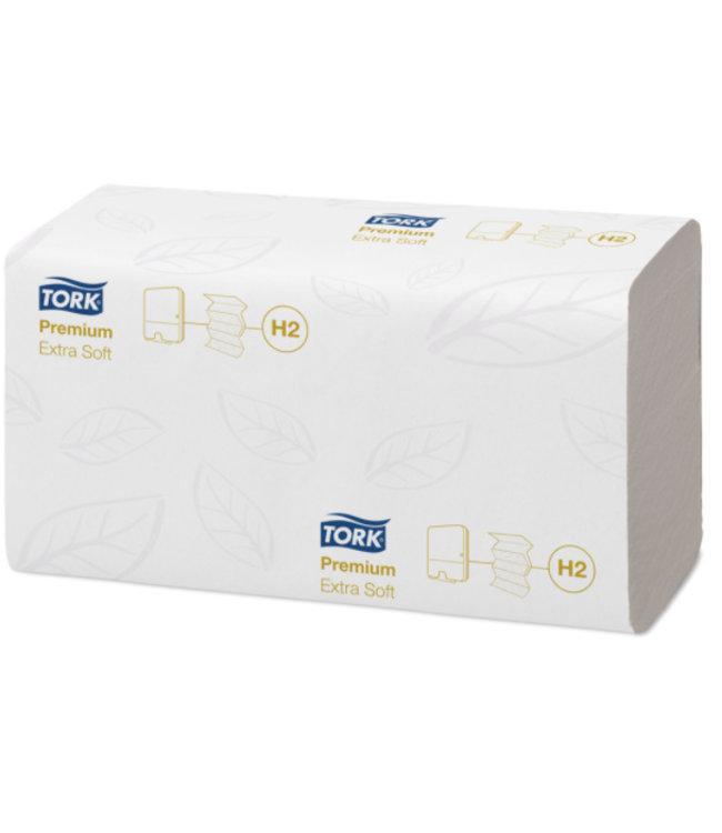 Tork Tork Xpress® Extra Zachte Multifold Handdoek 2-laags XL Wit H2 Premium