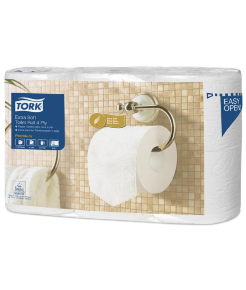 Tork Extra Zacht Traditioneel Toiletpapier 4-laags Wit 150 Vel T4 Premium