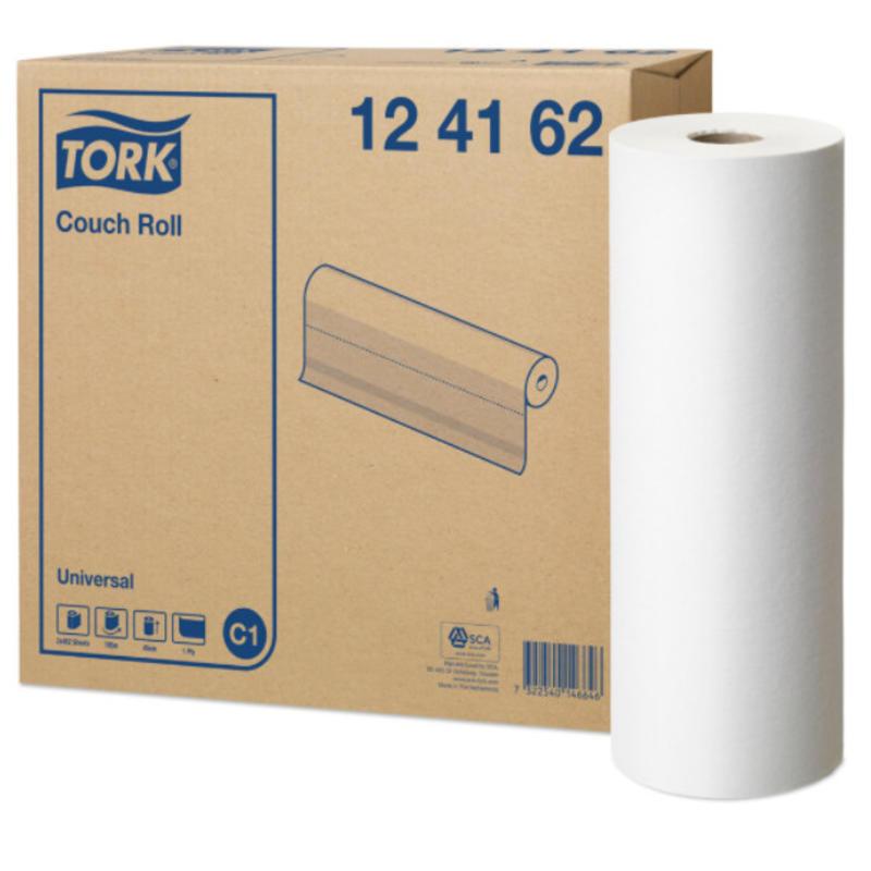 Tork Onderzoekstafelrol 1-laags Wit 45 cm C1