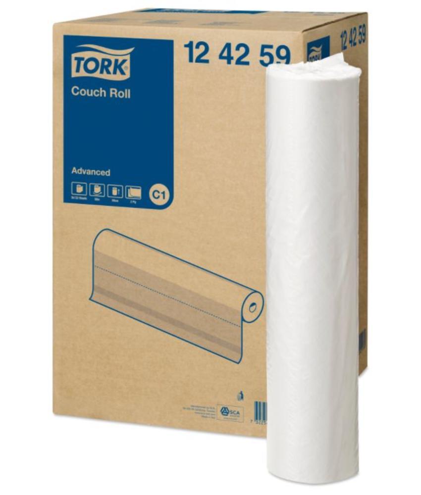 Tork Onderzoekstafelrol 2-laags Wit 59 cm C1