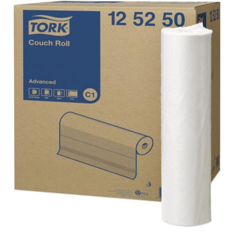 Tork Onderzoekstafelrol 2-laags Wit 50 cm C1