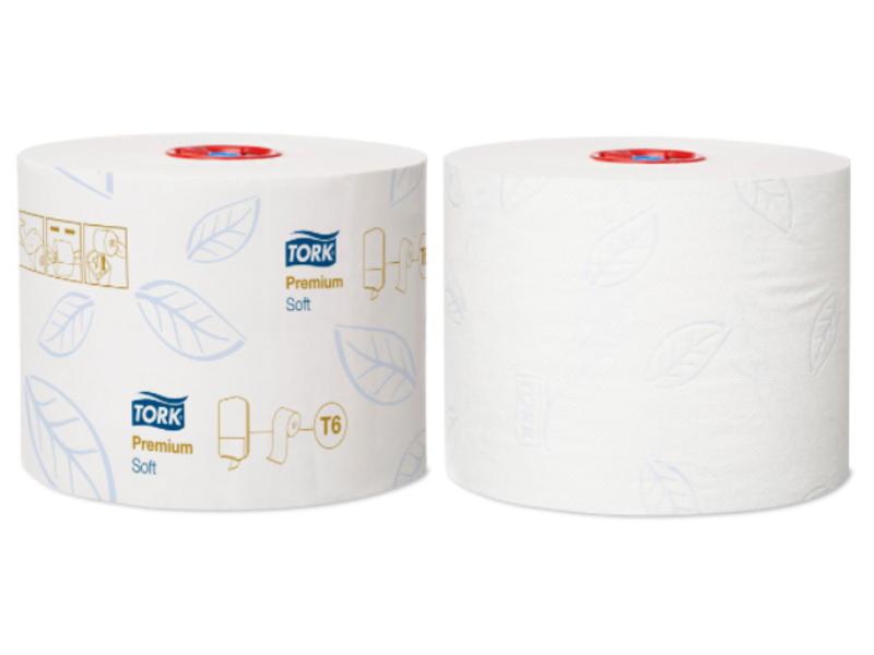 Tork Tork Zacht Mid-size Toiletpapier 2-laags Wit T6 Premium